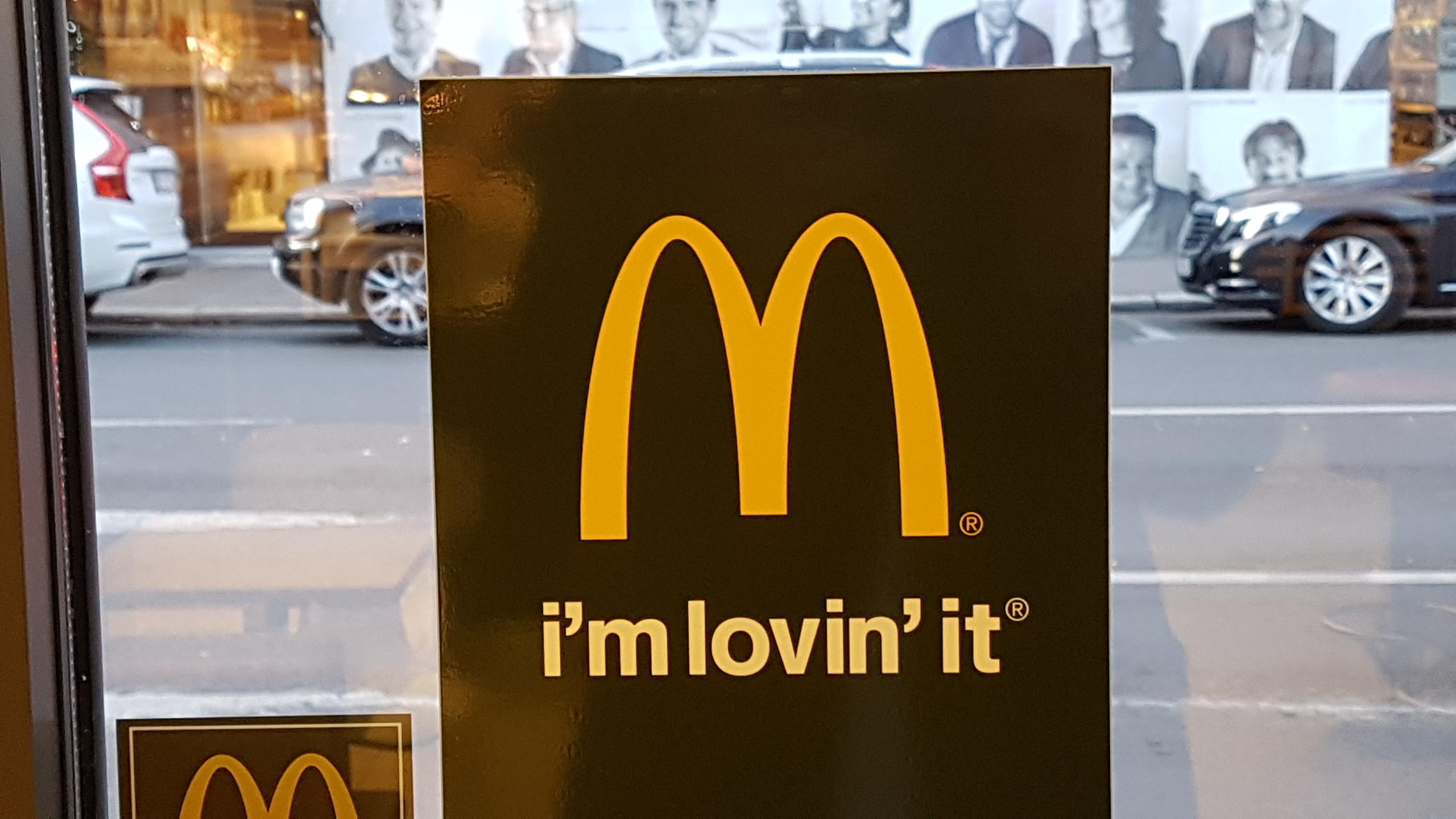 McDonald's restaurant a claim
